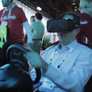 Drive cars in virtual reality